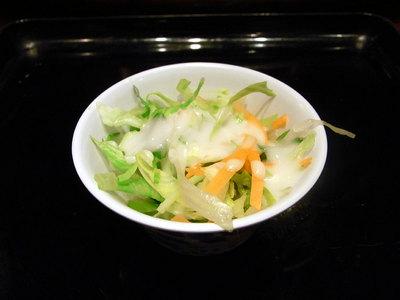 野菜サラダ。