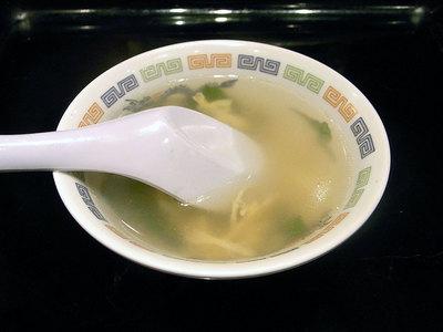 ランチのスープ。