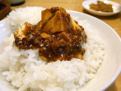 麻婆豆腐でご飯がススムくんです