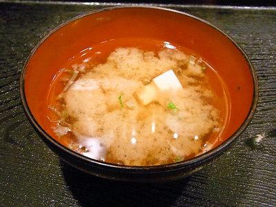 定食の味噌汁