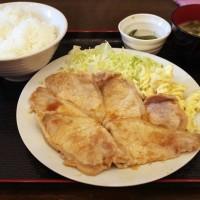 八丁堀食堂のロース生姜焼き定食