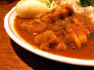 七穀米とスープカレー