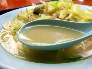 ちゃんぽんのスープ