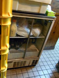 ビールが入った冷蔵庫