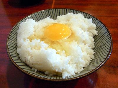 生卵無料でたまご掛けご飯