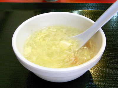 溶きたまごのスープ