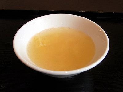 たまごスープ。