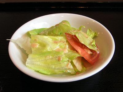 レタスのサラダ。