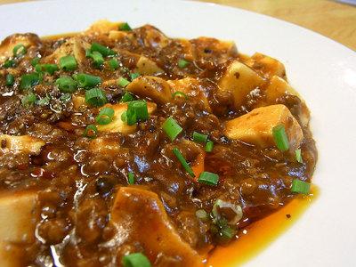山椒も沢山入った四季保坊シキボウホウの麻婆豆腐
