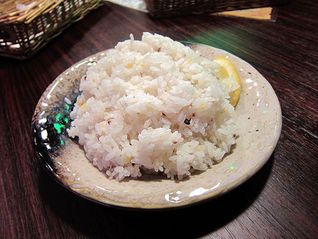 スープカレーGARAKUのライスは五穀米