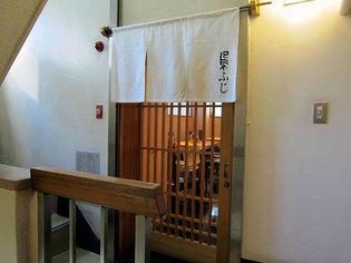 和風のお店の入り口